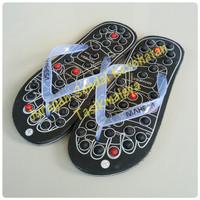 Sandal Jepit Karet Bakiak Rematik Akupuntur Terapi Reflexi Repleksi