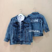 Jaket Jeans Anak Unisex Avril Kimy Jacket Original
