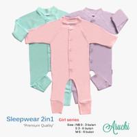 Sleepsuit Baju Tidur Bayi Aruchi NB S M