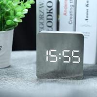 Jam Meja LED Digital | Jam Meja Mirror Display | Alarm Jam Meja