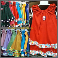 DREES setelan baju anak perempuan 1thn /3thn/stelan baju harian