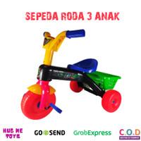 Mainan Sepeda Anak Roda Tiga Roda 3 Plastik TM612