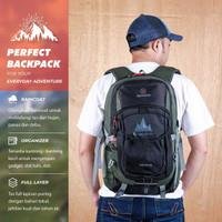 Tas Ransel Laptop Pria 17 inch Montaza Backpack Rolltop Travel MP 03