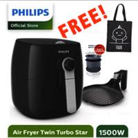 PHILIPS Premium Airfryer HD9723 Air Fryer HD 9723 Garansi Resmi - New - Hanya HD9723