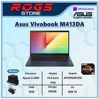Asus Vivobook M413DA Ryzen 5 3500 8GB 256ssd 14.0FHD W10