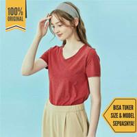 Kaos Giordano Polos T-Shirt tshirt Tee Tees V Neck - Multicolor