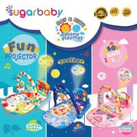 Sugar baby play gym playmat piano music lampu sugarbaby babygym