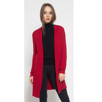 Noir Sur Blanc Michelle Cardigan Red