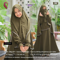 amera syari anak terbaru baju muslim anak remaja terbaru set cadar