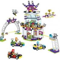 Lego Bricks Friends The Big Race Day / Mobil Balap / Lele 37090