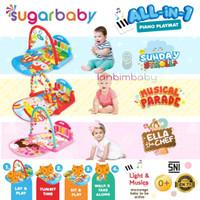 Sugar Baby Piano Playmat Playgym