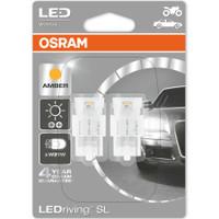 OSRAM LED WY21W Amber 12V 1.4W W3x16d - Lampu Sein Tancap T20 7704YE