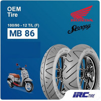 BAN IRC 100/90-12 TUBLESS BUAT SCOOPY NEW MB86