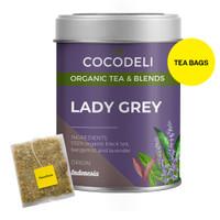 LADY GREY   Big Tin   Cocodeli by Haveltea Organic  Teh Hitam Bergamot - Big Tin