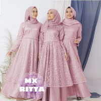 Baju Gamis Brukat Baju Gamis Wanita Gamis Wanita Muslimah RITTA RD