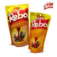 Rebo Kuaci Bundling 2 PCS - Varian Rasa Caramel 150 Gram + 70 Gram