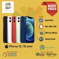 iPhone 12 / 12 Mini 64GB 128GB 256GB Garansi Resmi iBox NEW BNIB