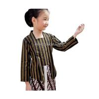 Baju Kebaya Kartinian Surjan Lurik Anak Perempuan