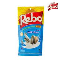 Rebo Kuaci Bundling 2 PCS - Varian Rasa Milk 150 Gram + 70 Gram