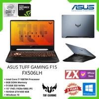 ASUS TUF GAMING F15 FX506LH i7-10750H 8GB 512GB GTX1650 4GB W10 144HZ