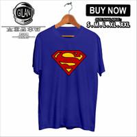 Kaos Baju SUPERMAN DC COMIC SUPERHERO - GIlan - S