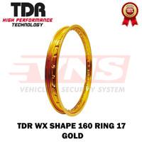 VELG TDR - RIM TDR 160 RING 17 W SHAPE COLOUR - Gold