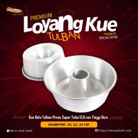 Loyang Kue Premium Bolu Tulban Press Kue Jadul Kualitas Super Tebal