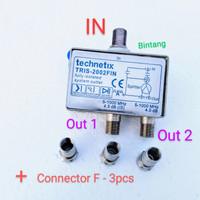 Splitter antena TV 2 way super grade A