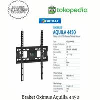 braket tv led merk oximus aquilla 4450 ukuran 32'-55'