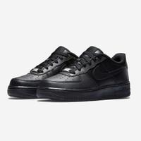 Nike Air Force 1 Triple Black 100% Authentic