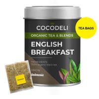 ENGLISH BREAKFAST   Big Tin   Cocodeli by Haveltea Organic   Teh Hitam - Big Tin