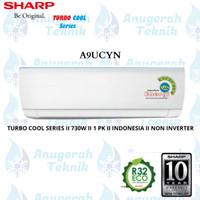 AC SPLIT SHARP 1 PK 1 PK R32 JETSREAM SERIES NON INVERTER - A9UCYN