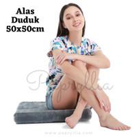 Papryllia - Alas / Bantal Duduk Sofa 50x50cm Tebal Busa 5cm ( Abu )