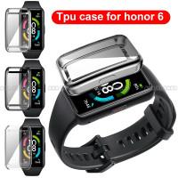 TPU Soft Case Bumper FULL COVER Huawei Honor Band 6