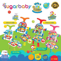 SUGAR BABY PREMIUM ACTIVITY WALKER AND TABLE 10 IN 1