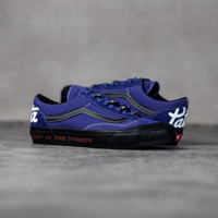 Sepatu Vans Style 36 VLT X LV X Patta Spectrum Blue / Black