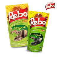 Rebo Kuaci Bundling 2 PCS - Varian Rasa Original 150 Gram + 70 Gram