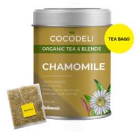 CHAMOMILE | Big Tin | Cocodeli Organic | Teh Hijau Chamomile Lavender