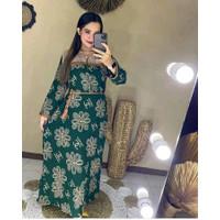 Daster Arab Terkini Baju Tidur Wanita Sheeza Collection Rayon Motif DC