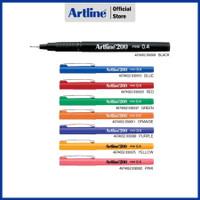 PULPEN ARTLINE WRITING PENS VARIETY INK COLOURS EK-200