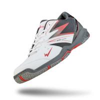 Sepatu Eagle Meteor Putih/Hitam - Sepatu Badminton - 37