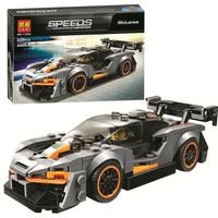 Bricks Mobil balap lari / bela 11255 speed champions Mclaren Senna