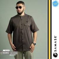 Baju Koko Kemko SAMASE Busana Muslim Premium Pria Cowok TDS-KM014