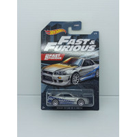 Hotwheels Hot Wheels Fast & Furious - Nissan Skyline GT-R (BNR34) 2021