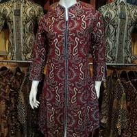 Tunik Batik Atasan Wanita motif lurik