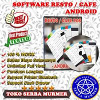 Software program aplikasi POS kasir cafe resto warung depot android