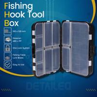 Box Koper Kotak Perkakas Aksesoris Kail Pancing Ikan Waterproof Case