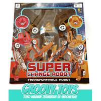 Mainan Anak Robot SuperHero Change - Super Change Robot Rescue BP 9523