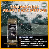 Pelapis kaca anti air mobil spion motor pelindung hujan | rain clear