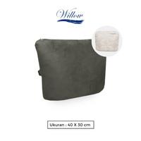 Sarung Bantal 40x30 Back Cushion Memory Foam